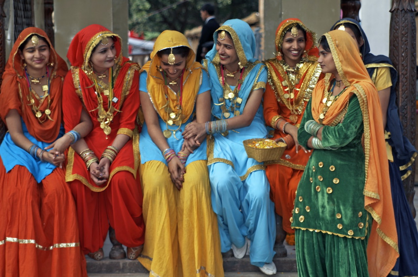 Beautiful What Women Wear In India