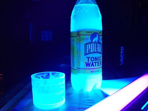 how to make water light up