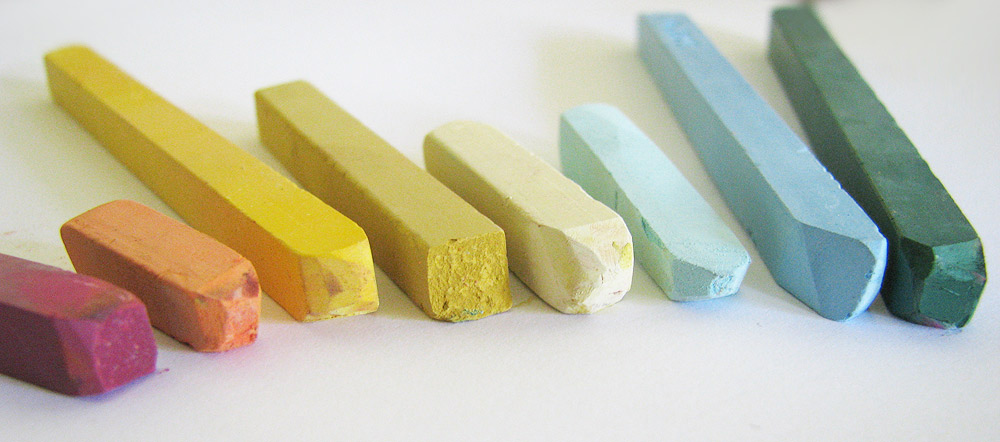 Pigments through the Ages - Pigments in Pastels