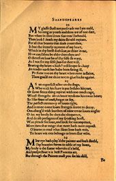 William Shakespeare famous poems
