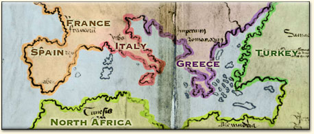 Modern Day World Map.Analyzing The Vinland Map Looking At The Map